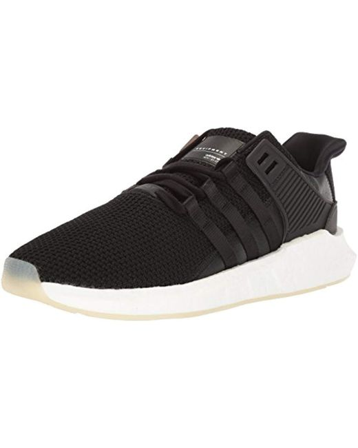 Adidas Originals - Black Eqt Support 93 17 Running Shoe for Men - Lyst ... 093a0aee81