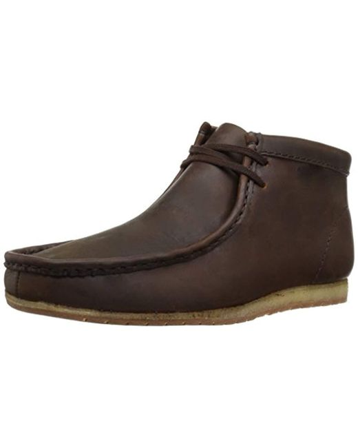Clarks - Brown Wallabee Step Boot Chukka for Men - Lyst
