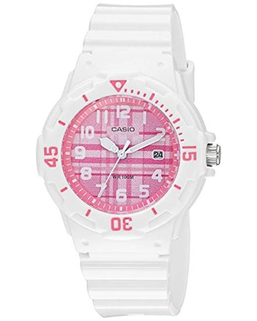 G-Shock - Multicolor Quartz Stainless Steel And Resin Casual Watch, Color:white (model: Lrw-200h-4cvcf) - Lyst