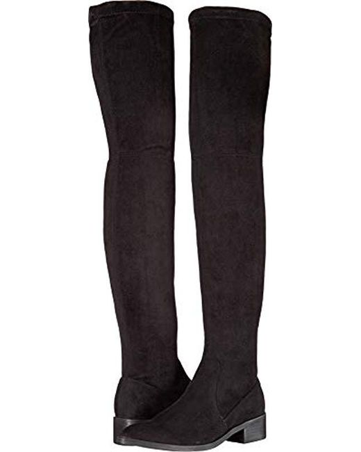 a1bfe266dee Steve Madden - Black Jestik Over The Over The Knee Boot - Lyst ...