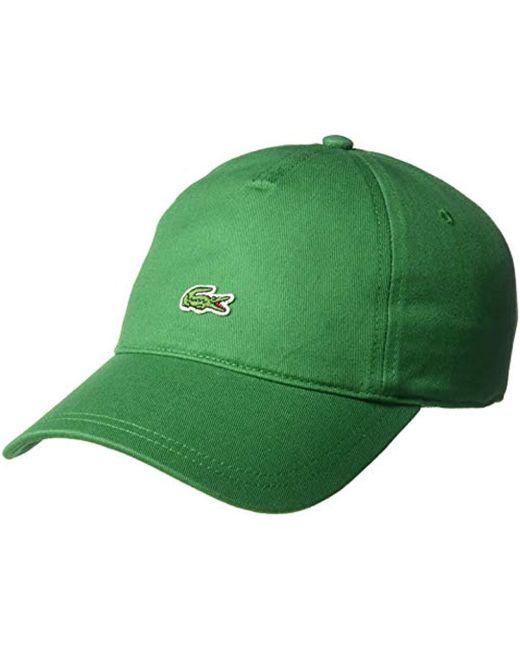 4994e683 Lacoste - Green S Small Croc Strapback Cap for Men - Lyst ...