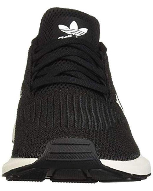 bce2b90be6 Adidas Originals Swift Running Shoe, Black/white/grey, 5 M Us for men