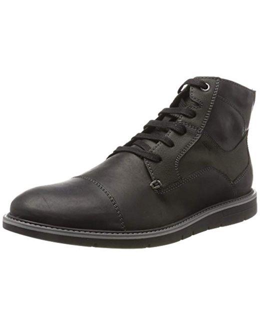 Geox - Black Uvet 5 Ankle Bootie for Men - Lyst