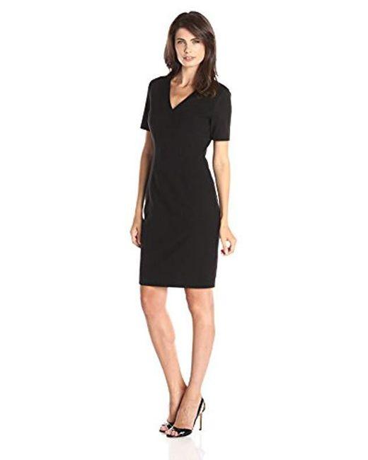 9300e59ca15b9 Lyst - T Tahari Mikayla Dress in Black - Save 69%