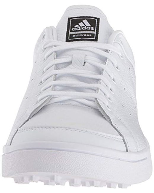 671910ffa9b5 Lyst - adidas Adicross Classic Golf Shoes in White for Men - Save 9%