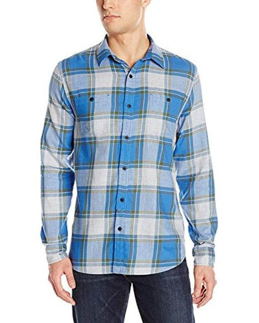 Lucky Brand - Mason Work Wear Shirt In Blue Plaid for Men - Lyst