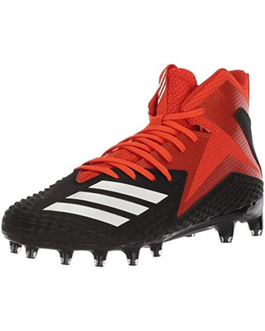 new concept 22737 b14cf Adidas - Red S Freak X Carbon Mid Low Top Lace Up Soccer Sneaker for Men ...