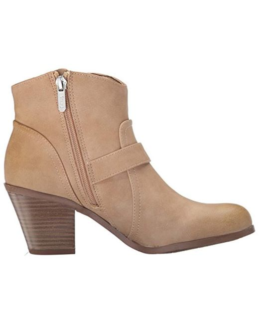 26b90129d4f23 Lyst - Circus By Sam Edelman Leah Ankle Bootie in Brown - Save ...
