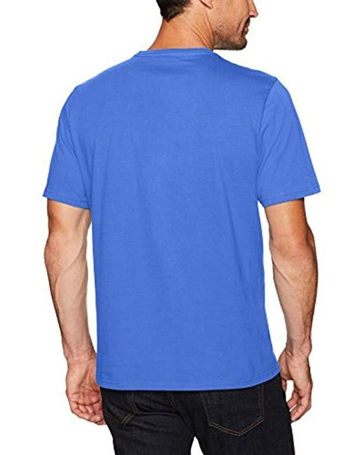 e01c02ee1 ... Amazon Essentials - Blue 2-pack Loose-fit Short-sleeve Crewneck T- ...