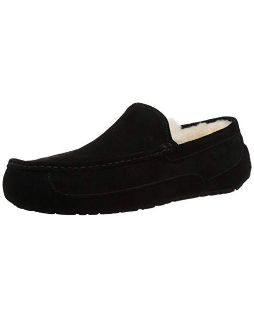 ecee2cdc8c1a Lyst - UGG Ascot Slipper in Black for Men - Save 1%