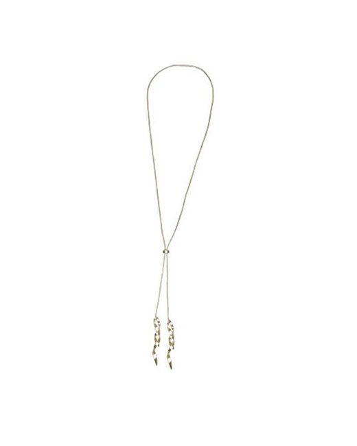 Kenneth Cole - Metallic Gold Twist Y-shaped Adjustable Drop Necklace - - Lyst