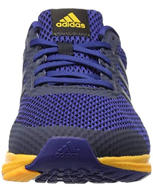 49117d90bfaa ... Adidas - Red Performance Mana Bounce Running Shoe for Men - Lyst ...
