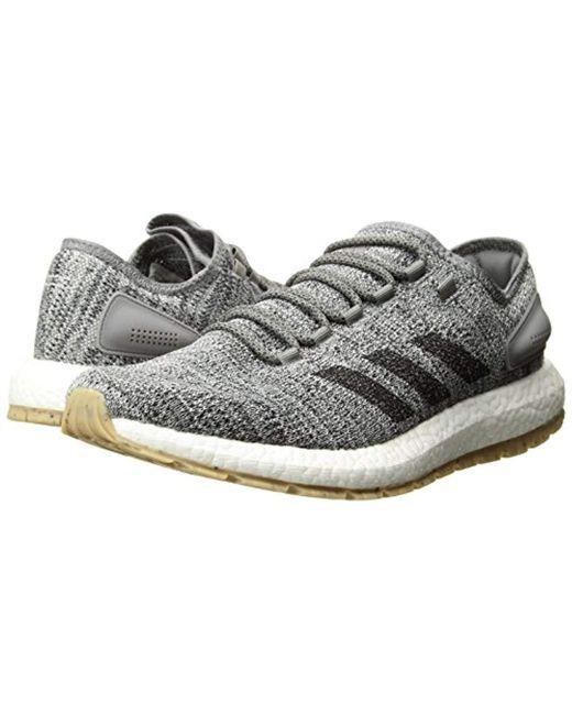 c8ed673fbf86e Lyst - adidas Pureboost Atr Running Shoe in Gray for Men - Save 50%