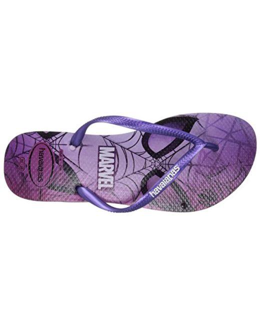 5c1a57f65b50 ... Havaianas - Purple Slim Flip Flop Sandals