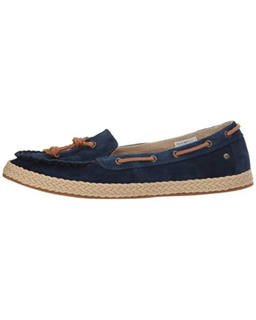 1ac0dee31ce Lyst - UGG Channtal Loafer Flat in Blue - Save 51%