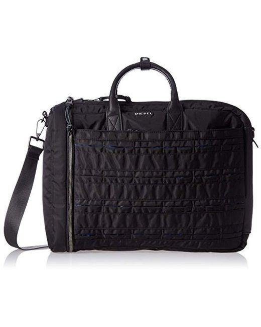 DIESEL - Black 24/7 Briefcase for Men - Lyst
