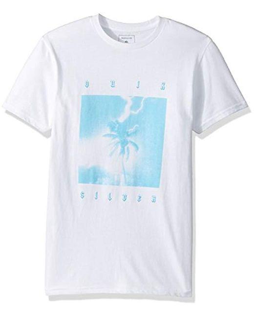 Quiksilver - White Tropo Storm T-shirt for Men - Lyst
