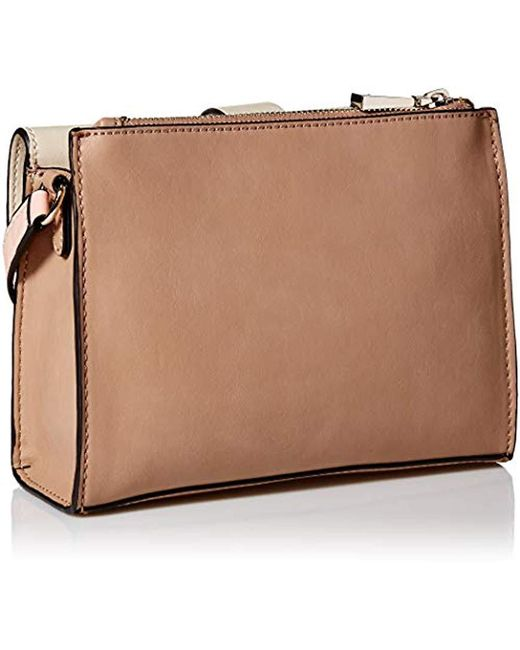 88b48907866 ... Guess - Natural Islington Crossbody Flap - Lyst ...