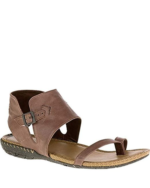 14c56a6b482 Lyst - Merrell Whisper Post in Brown - Save 20%