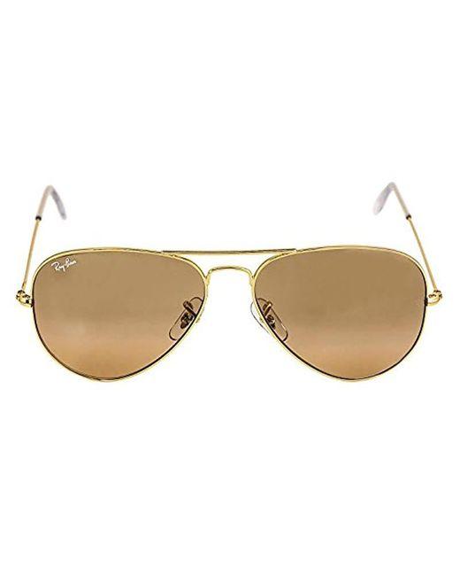 Ray-Ban - Multicolor Rb3025 Aviator Large Metal Unisex Sunglasses - Lyst