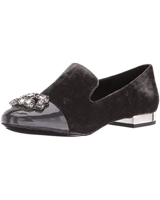 Nine West - Gray Zarinia Fabric Ballet Flat - Lyst