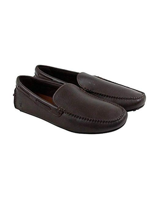 Frye - Brown Allen Venetian Driving Style Loafer for Men - Lyst
