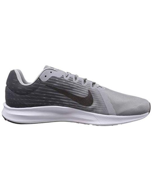 82e34acaff4f4 ... Nike - Gray Downshifter 8 Running Shoe