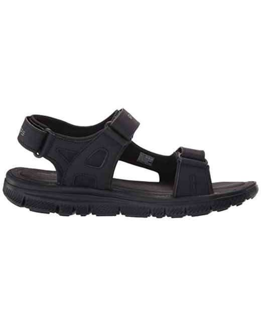 1fa1a0c51681 ... Lyst Skechers - Flex Advantage S - Upwell Men s Sandals In Black for  Men ...