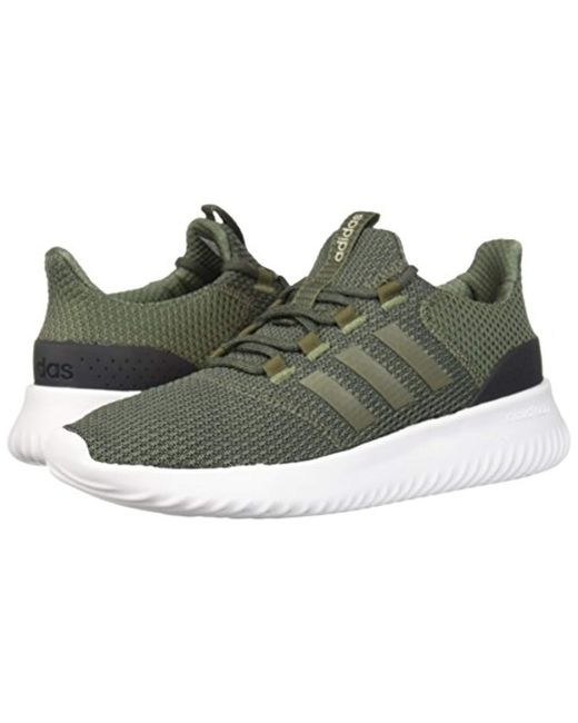 529d074dd ... Adidas - Green Cloudfoam Ultimate Running Shoe for Men - Lyst ...