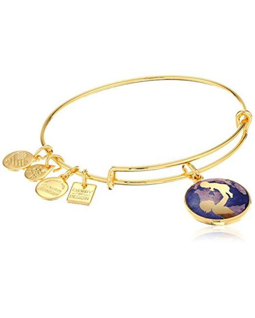 ALEX AND ANI - Metallic Charity By Design Bright Future Bangle Bracelet - Lyst