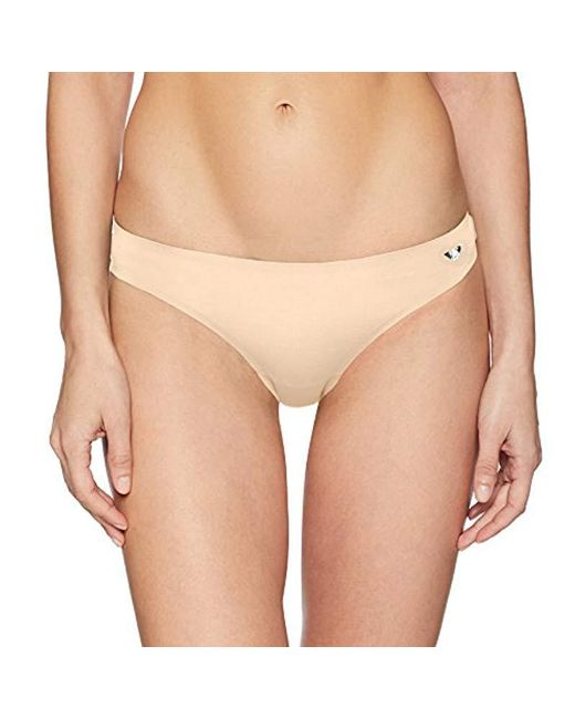 Emporio Armani - Natural Second Skin Thong - Lyst
