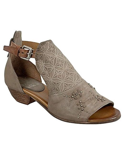 Miz Mooz - Brown Carey Heeled Sandal - Lyst