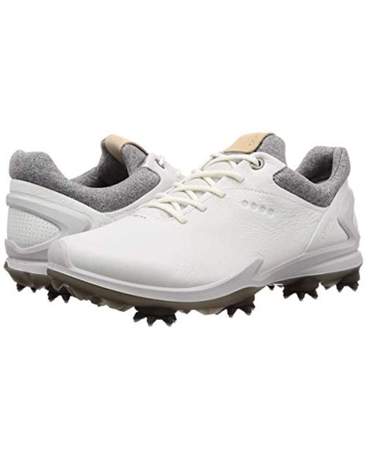58ef2ef75fecc ... Ecco - White Biom G3 Gore-tex Golf Shoe for Men - Lyst ...