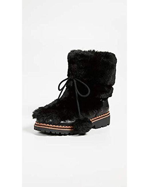 802f0ac518e5c6 ... Sam Edelman - Black Blanche Fashion Boot - Lyst ...