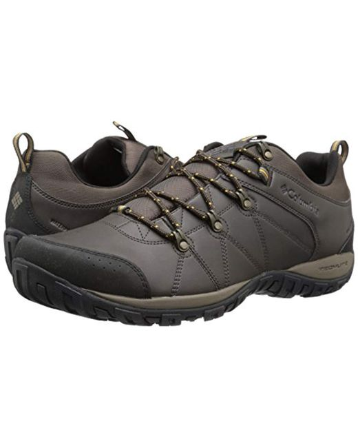 608dc977382d8 ... Columbia - Multicolor Peakfreak Venture Waterproof Wide Hiking Shoe  Cordovan