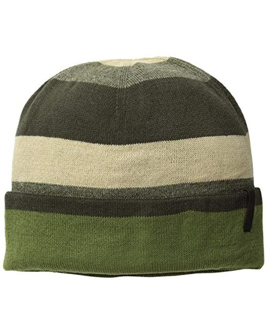 Timberland - Green Stripe Reversible Watch Cap for Men - Lyst