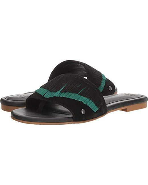 5e1e5f0ebbb Women's Black Binx Flat Sandal