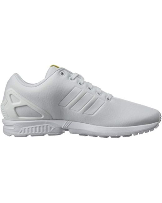 new product 96747 497d2 ... Adidas Originals - White Zx Flux W Running Shoe - Lyst ...