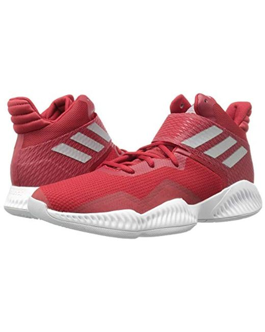 b640dbbe300 ... Adidas - Red Explosive Bounce 2018 Basketball Shoe for Men - Lyst ...