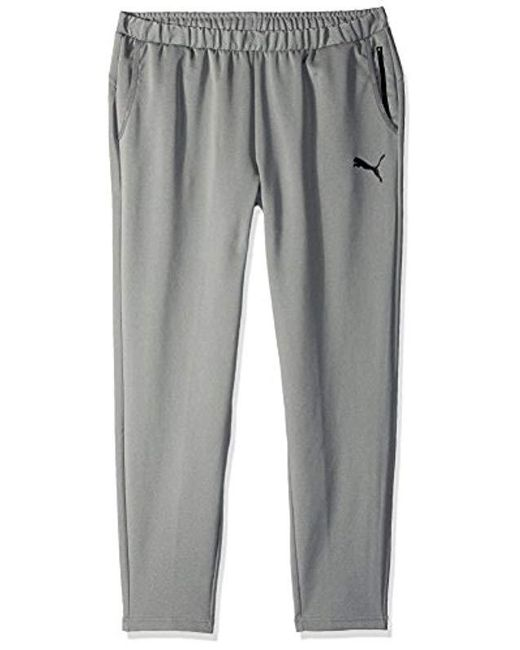 PUMA - Gray Tec Sports Pants for Men - Lyst