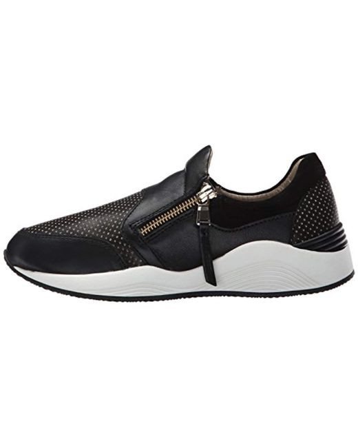 a5672c37ef090 Lyst - Geox D Omaya Fashion Sneaker in Black