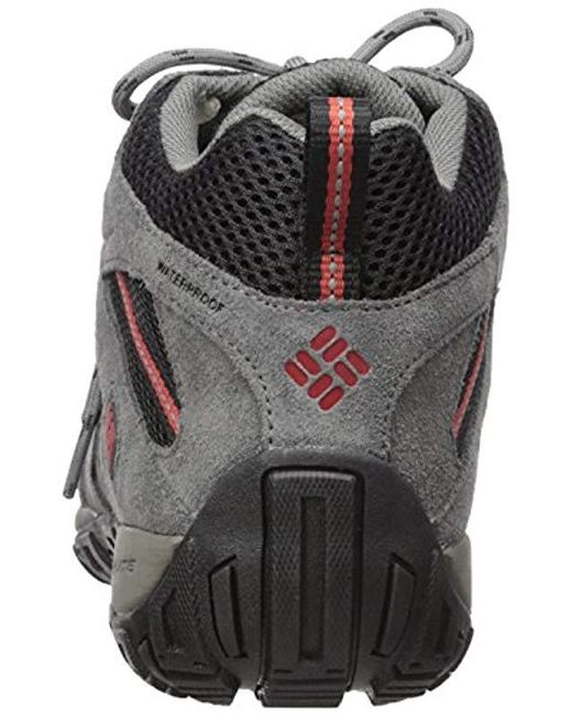 0fb350e01bf Columbia Redmond Mid Waterproof, Multisport Outdoor Shoes in Black ...
