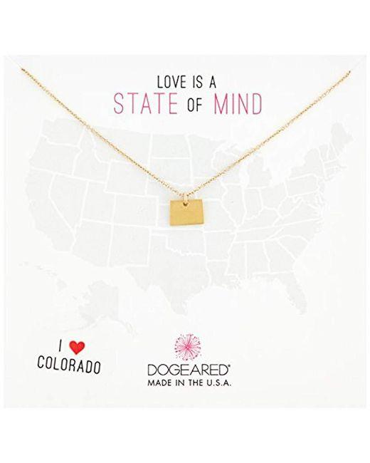 Dogeared - Metallic Colorado Chain Necklace - Lyst