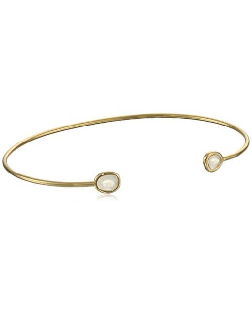 Tai - Metallic Open Cuff Bracelet - Lyst