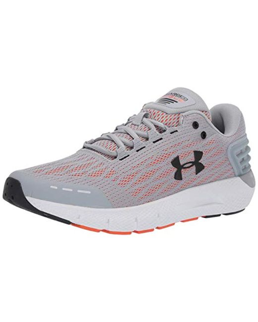 741de8c804b9 Under Armour - Gray Charged Rogue Running Shoe for Men - Lyst ...