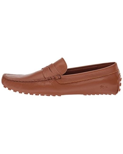 df1e2439c31ff Lyst - Lacoste Concours 118 1 P (tan) Men s Shoes in Brown for Men ...