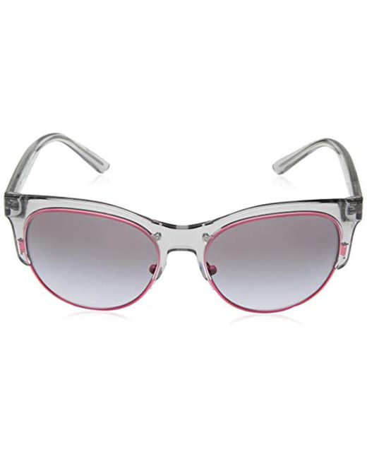 1bdb0c108056e Lyst - DKNY Injected Woman Sunglass Round
