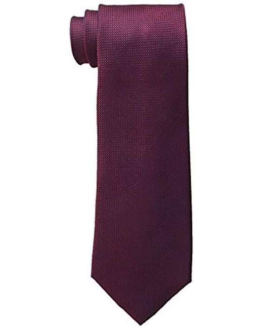 Tommy Hilfiger - Purple Solid Ties for Men - Lyst
