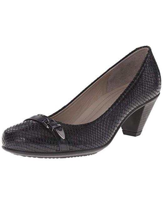 Ecco - Black Footwear S Touch 50 Buckle Pump - Lyst