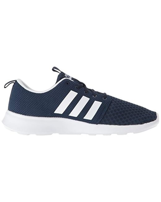80bcd41296d5a ... Adidas - Blue Cf Swift Racer Sneaker for Men - Lyst ...